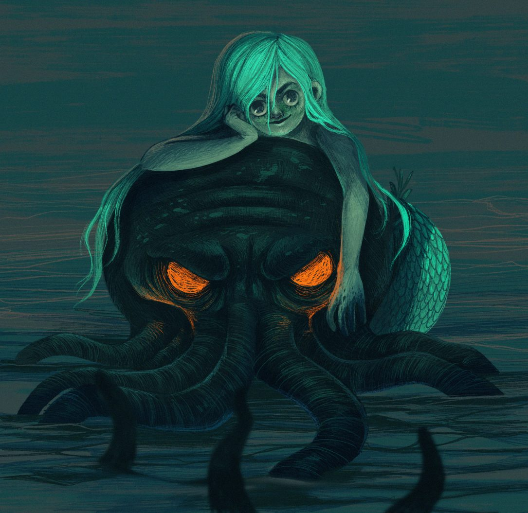 cthulhu-mermay-illustration