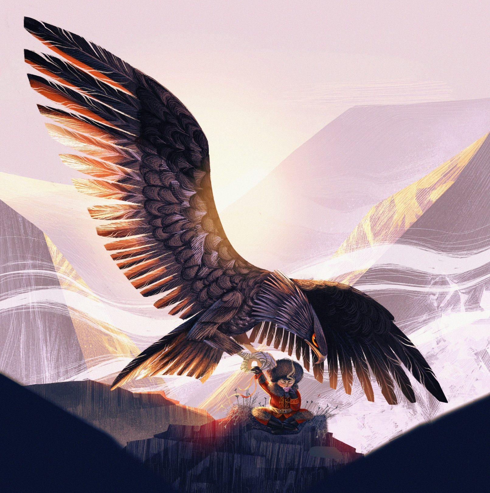 mongolian-eagle-character-design-challenge