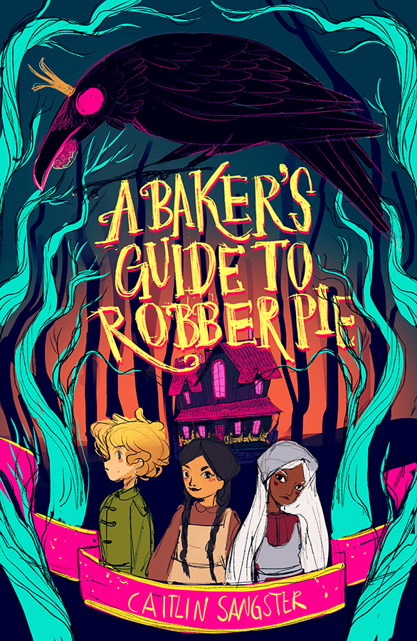 bakers-guide-robber-pie-macmillan-publishing-cover-sketch-2