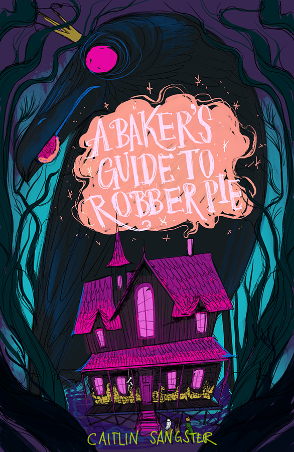 bakers-guide-robber-pie-macmillan-publishing-cover-sketch-3